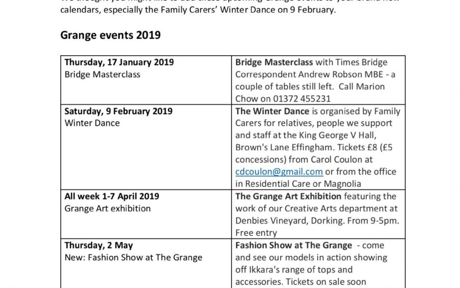 thumbnail of Chief Executive Updates January 2019